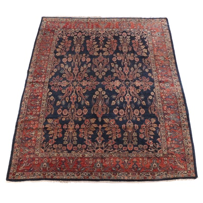 8'11 x 11'8 Hand-Knotted Persian Tabriz Wool Rug