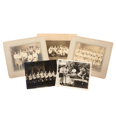 Women's Group Portrait Silver Gelatin Photographs, Early to Mid-20th Century