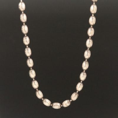 Slipada Sterling Oval Bead Chain