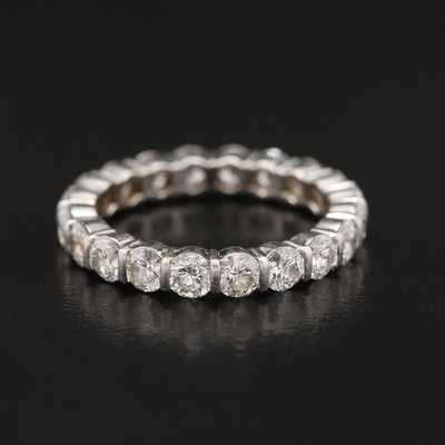 Platinum 2.00 CTW Diamond Eternity Band