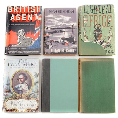 "First Edition ""Island Farm"" by Darling with More Books Including First Editions"