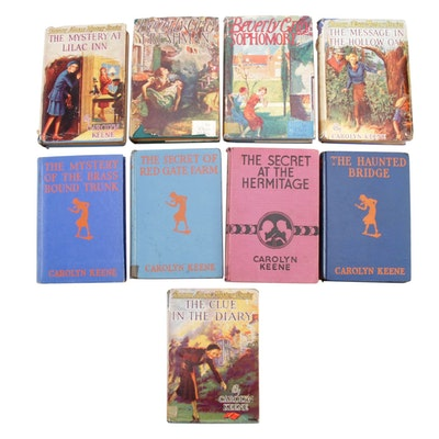 """Nancy Drew Mystery Series"" and ""Beverly Gray College Mystery Series"", Vintage"