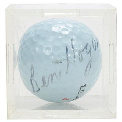 Ben Hogan Autographed Golf Ball