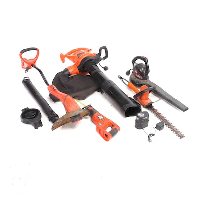 Black + Decker and Toro Lawn and Garden Power Tools