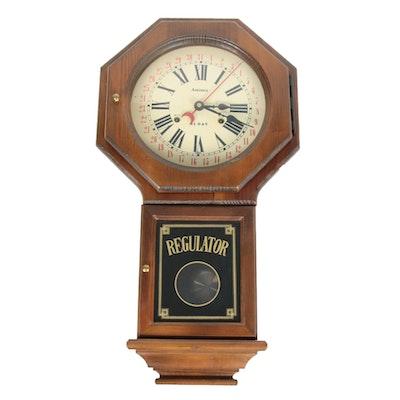Aminex Calendar Regulator Clock