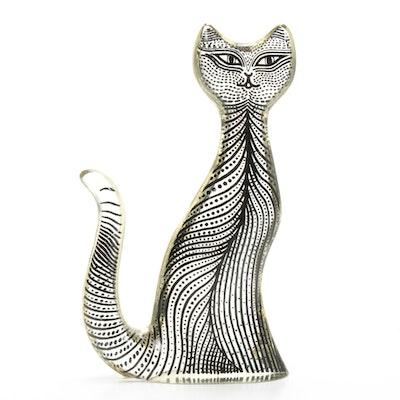 Abraham Palatnik Op Art Lucite Kitty Cat, 1970s
