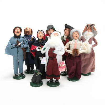 "Byers' Choice Ltd. ""The Carolers"" Including Williamsburg & Salvation Army"