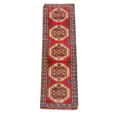 1'10 x 6'2 Hand-Knotted Northwest Persian Wool Carpet Runner
