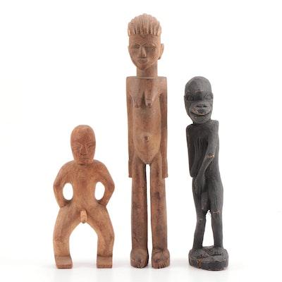 Lombok Indonesian Animistic Wooden Figures