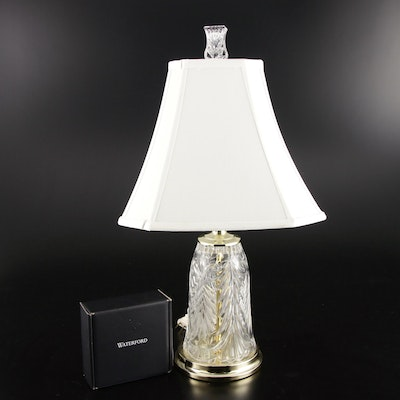 Crystal Lamp with Waterford Finial