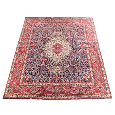 9'6 x 12'9 Hand-Knotted Persian Afshar WoolRug