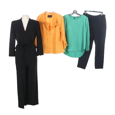 Max Mara, Lafayette 148 New York, Vince and Theory Pantsuit and Separates