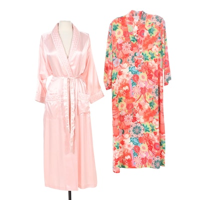 Christian Dior Robe and Natori Kimono Robe