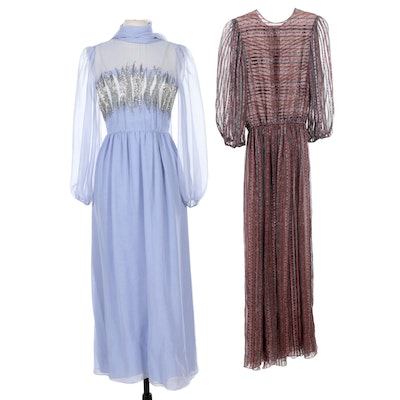 Victoria Royal Ltd. and Gentillesse Dresses, Vintage