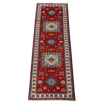 2'9 x 8'4 Hand-Knotted Indo-Persian Tabriz Runner Rug, 2010s