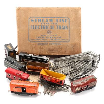 Louis Marx & Co. Stream Line Electric Train Set