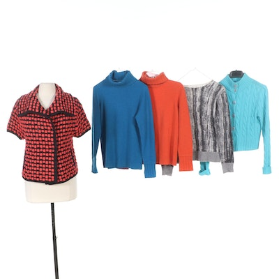 Kinross, Per Se and More Cashmere, Silk and Wool Knit Sweaters