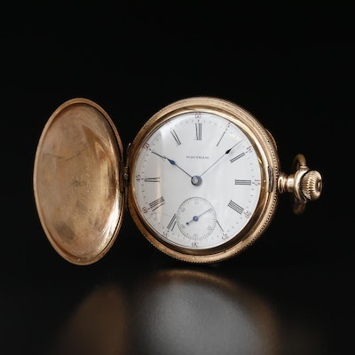 1900 Waltham Hunting Case Pocket Watch