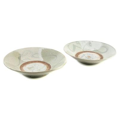 Chinese Zhangzhou (Swatow) Ware Bowls, Ming Dynasty