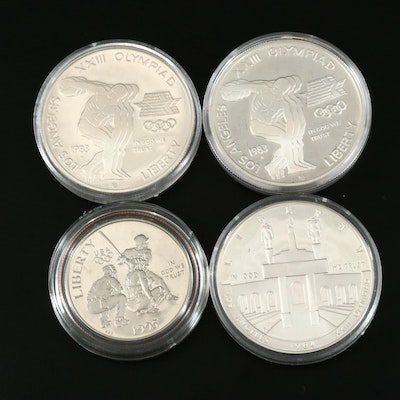 US Mint Olympic Silver Coins