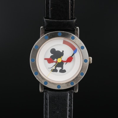 Michael Graves Limited Edition Mickey Mouse Painter Quartz Wristwatch