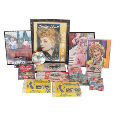 """""""I Love Lucy"""" Puzzles and Board Games, Mid to Late 20th Century"""