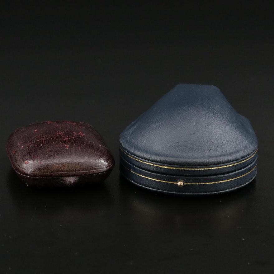 Vintage Jewelry Box and Ring Presentation Box