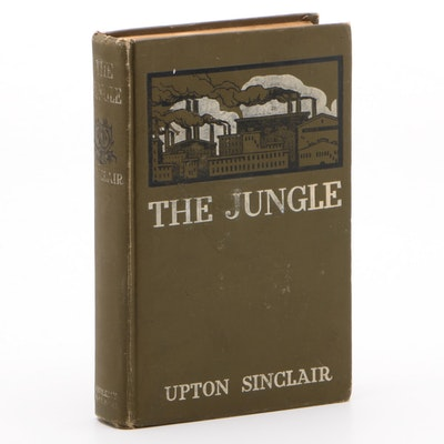"Signed First Edition ""The Jungle"" by Upton Sinclair, 1906  Visual COA"