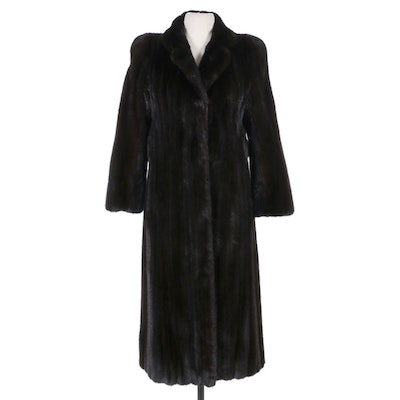 Blackglama Dark Ranch Mink Fur Coat from Thomas E. McElroy of Chicago