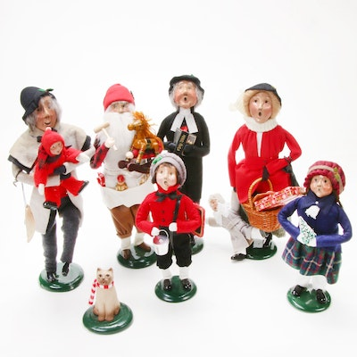 "Byers' Choice ""The Carolers"" Figurines, 1990s"