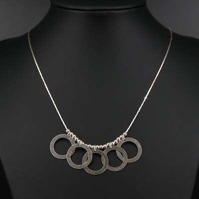 Sterling Silver Fancy Necklace