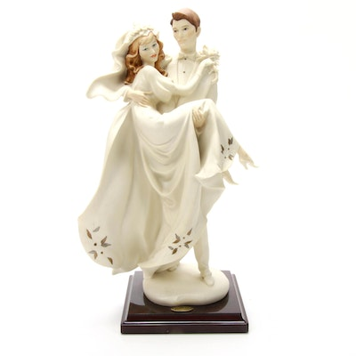 "Giuseppe Armani ""Happiness Forever"" Porcelain Sculpture"