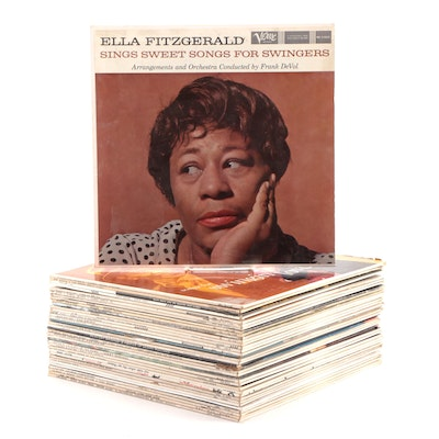 Jazz, Swing, Rock, Easy Listening Vinyl Records, Frank Sinatra, Ella Fitzgerald