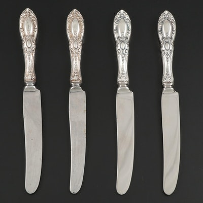 "Towle ""King Richard"" Sterling-Handled Dinner Knives, Mid to Late 20th Century"