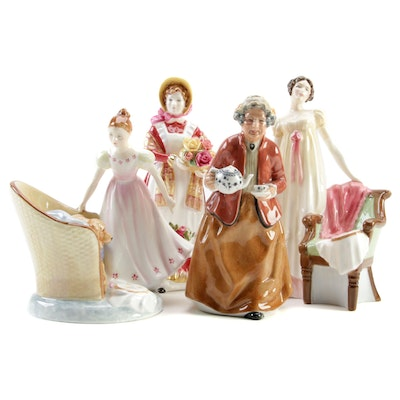 """Royal Doulton Bone China Figurines Featuring Limited Edition """"Emma"""""""