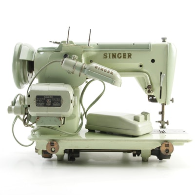 Singer Model 319W Sewing Machine with Case, 1950s