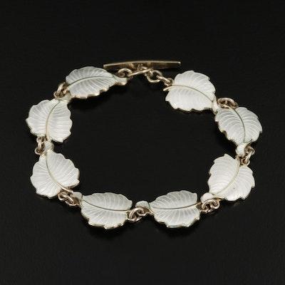 Volmer Bahner Sterling Silver Foliate Bracelet