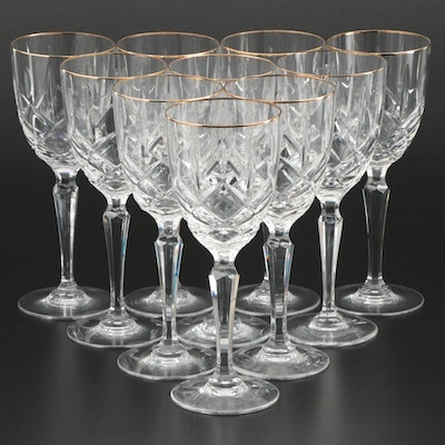 "Marquis by Waterford ""Chelsea"" Crystal Water Goblets, 1991–1997"