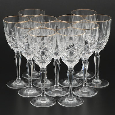 "Marquis by Waterford ""Chelsea"" Crystal Wine Glasses, 1991–1997"
