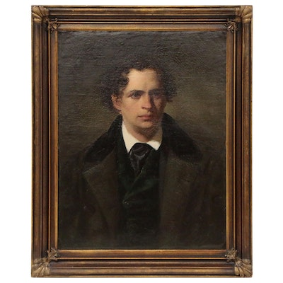 Continental School Portrait of Young Gentleman, Early 19th Century