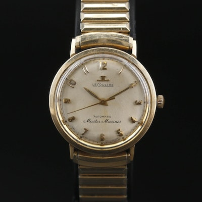 LeCoultre Master Mariner Gold Filled Automatic Wristwatch