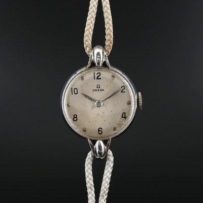 Vintage Omega Stainless Steel Wristwatch, Circa 1944