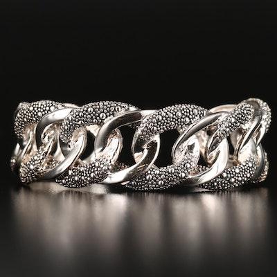 Michael Dawkins Sterling Silver Cuff Bracelet