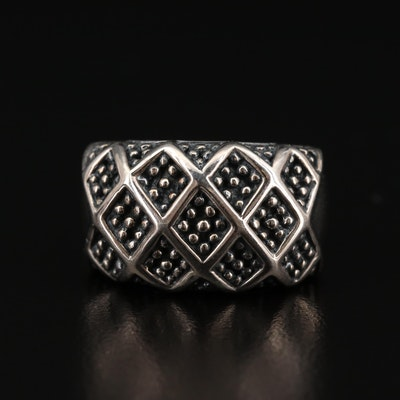 Michael Dawkins Sterling Silver Ring