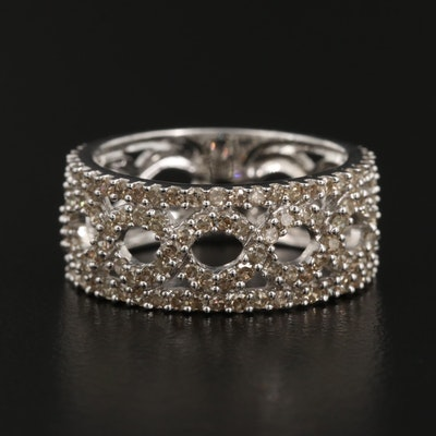 10K 1.04 CTW Diamond Ring