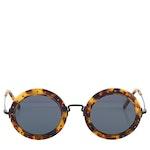 Philipp Plein Olivia Tortoiseshell Black Sunglasses