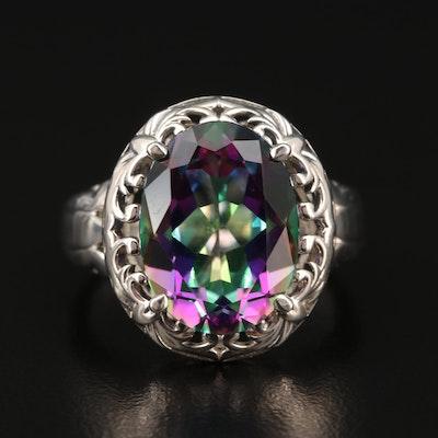 Sterling Silver Mystic Quartz Ring