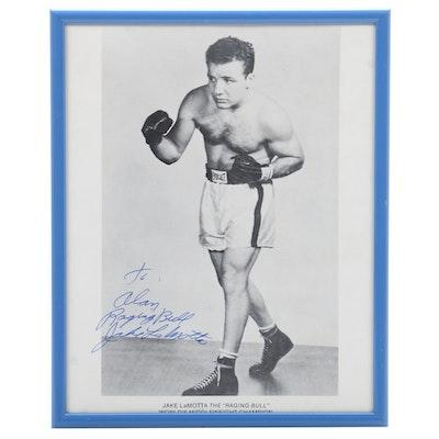 Jake LaMotta Autographed Photograph