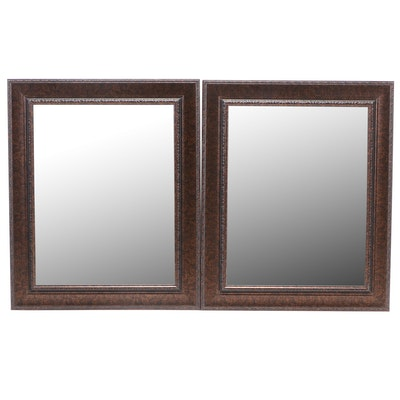 Metallic Bronze Finish Wall Mount Mirrors