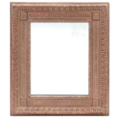 Victorian Style Molded Composite Wall Mirror, Mid to Late 20th Century